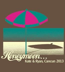 Custom Honeymoon Tee Shirts - Design Online at UberPrints.com