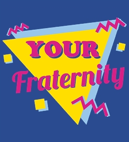 Fraternity Templates t-shirt design 20