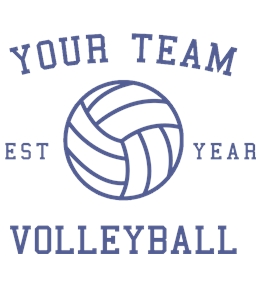 Volleyball t-shirt design 30