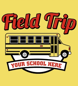 Field Trip t-shirt design 3