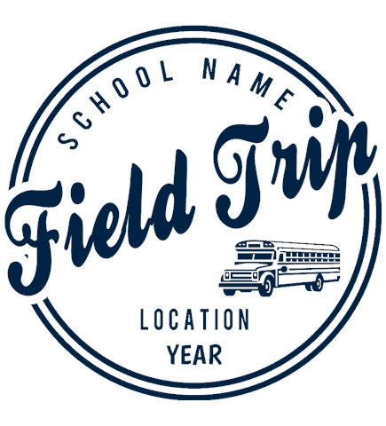 Field Trip t-shirt design 12