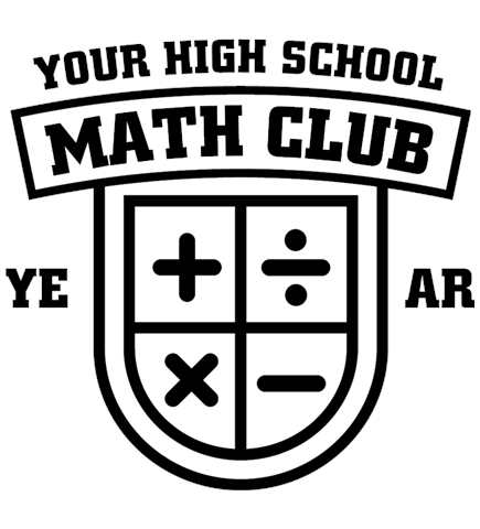 Math t-shirt design 3