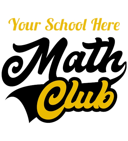 Math t-shirt design 8