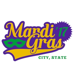 Create Custom Mardi Gras Shirts Online At UberPrints